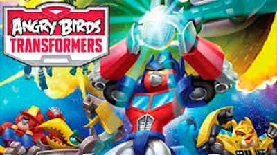 Angry Birds Transformers взломанная модификация получи и распишись андроид