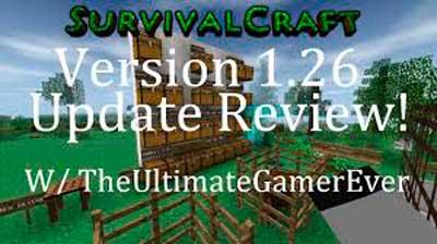Взломанная разночтение зрелище Survivalcraft v 0.28 для андроид